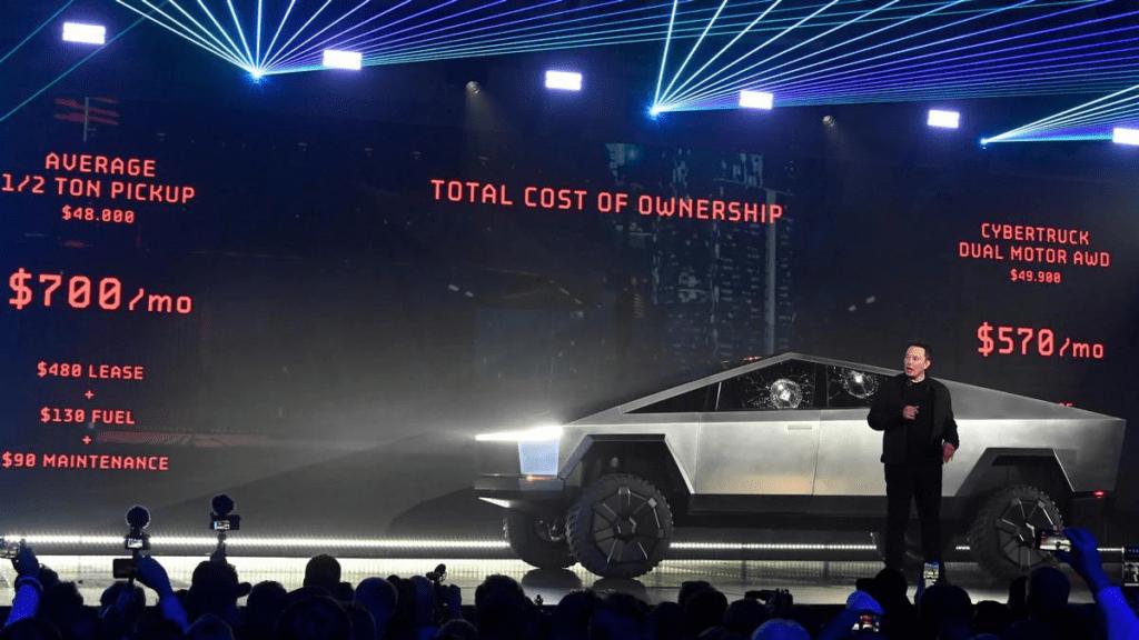 Tesla Cybertruck prezentacja