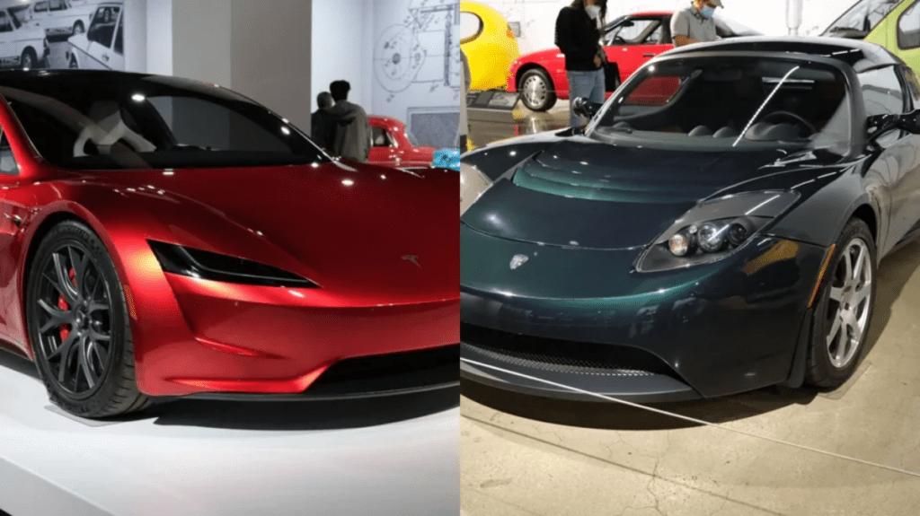 Tesla Roadster I i II generacji