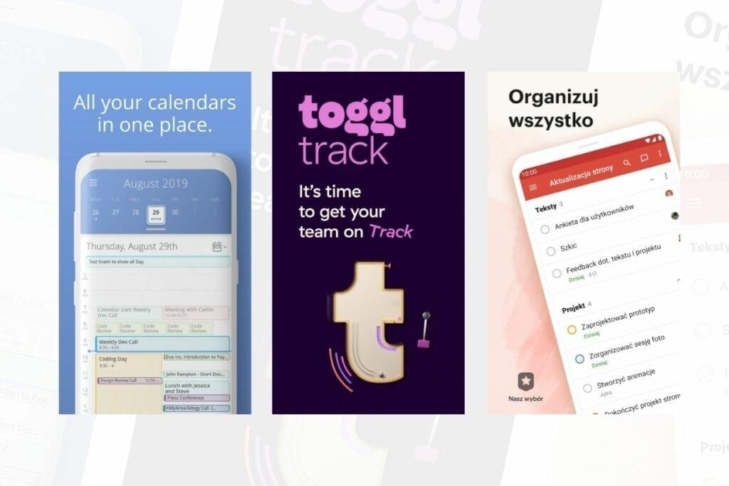 aplikacje na androida organizacja