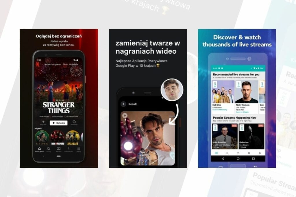 aplikacje na androida rozrywka