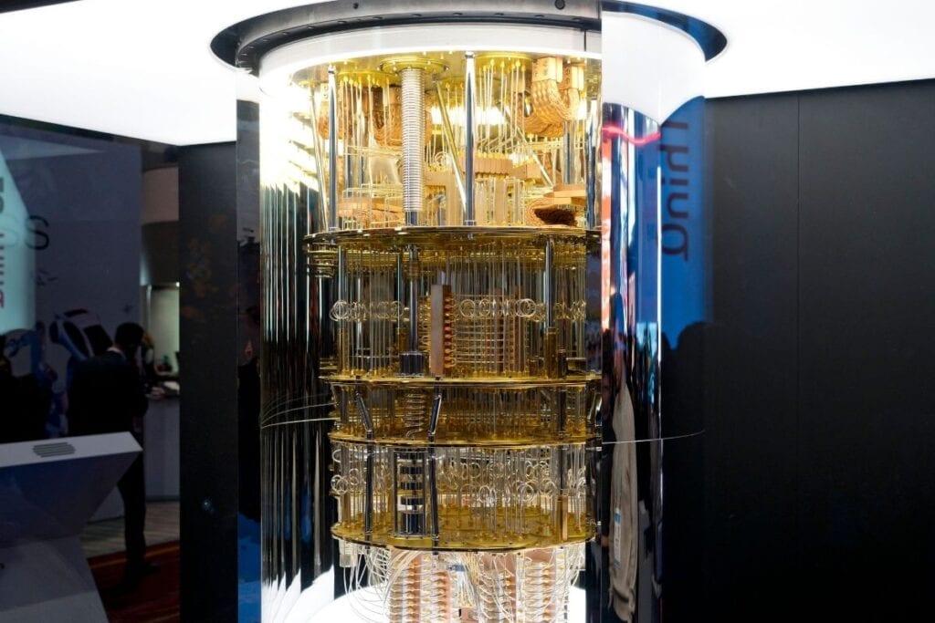 działanie komputera kwantowego