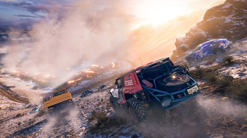Forza Horizon 5 - klimat, pustynia