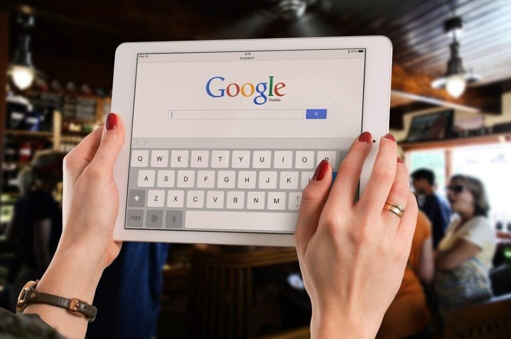 Asystent Google - tablet