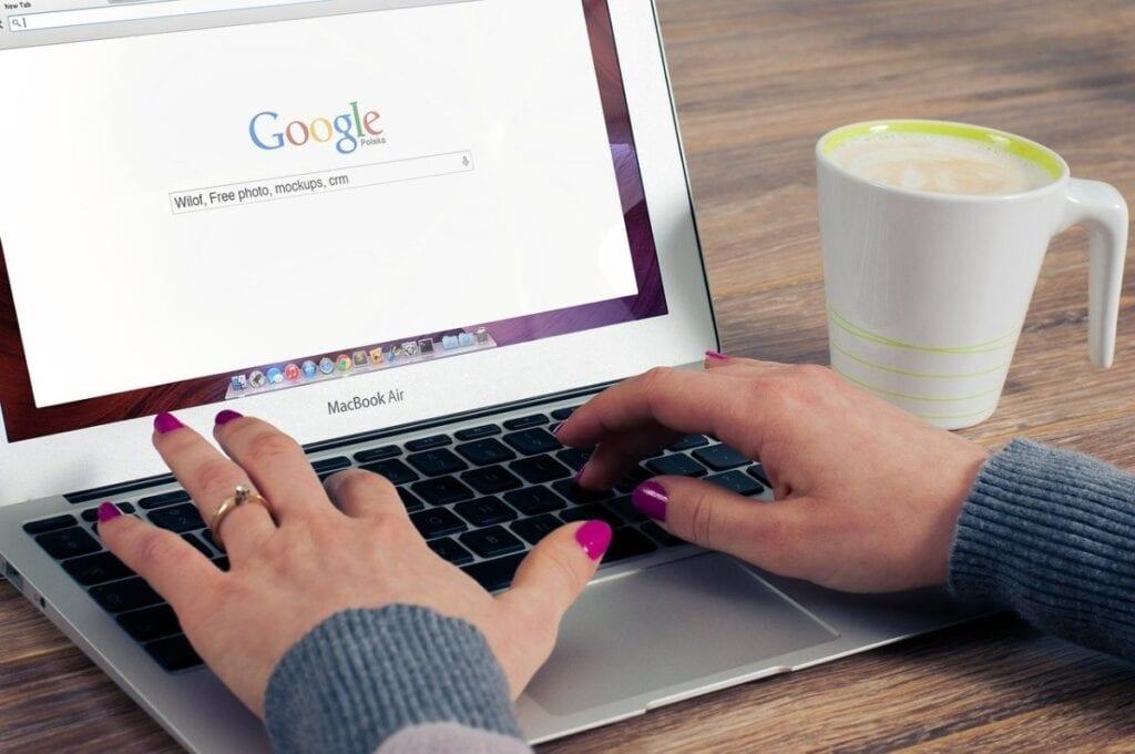 konto Google - zamiana na domyślne, chrome