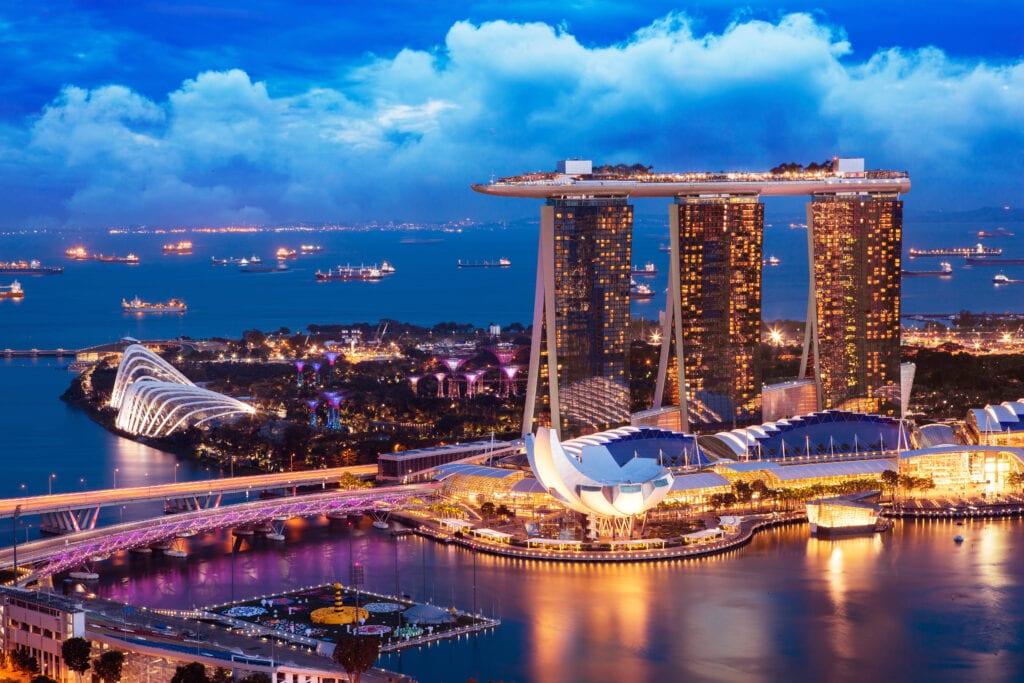 miasto przyszłości nr 1 Singapur