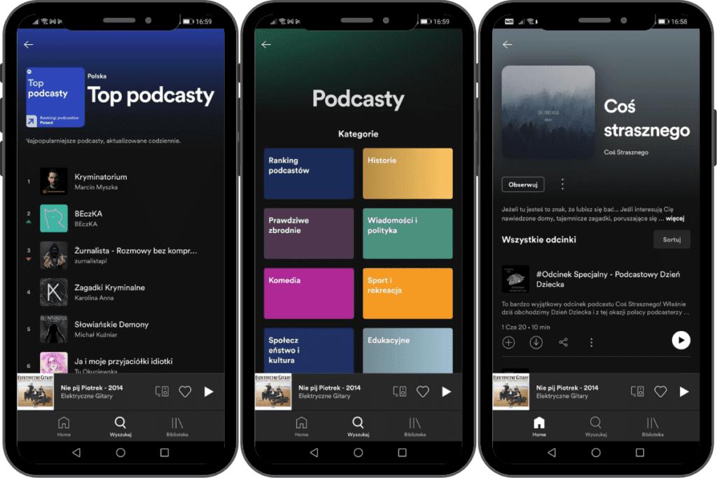 najlepsze podcasty spotify