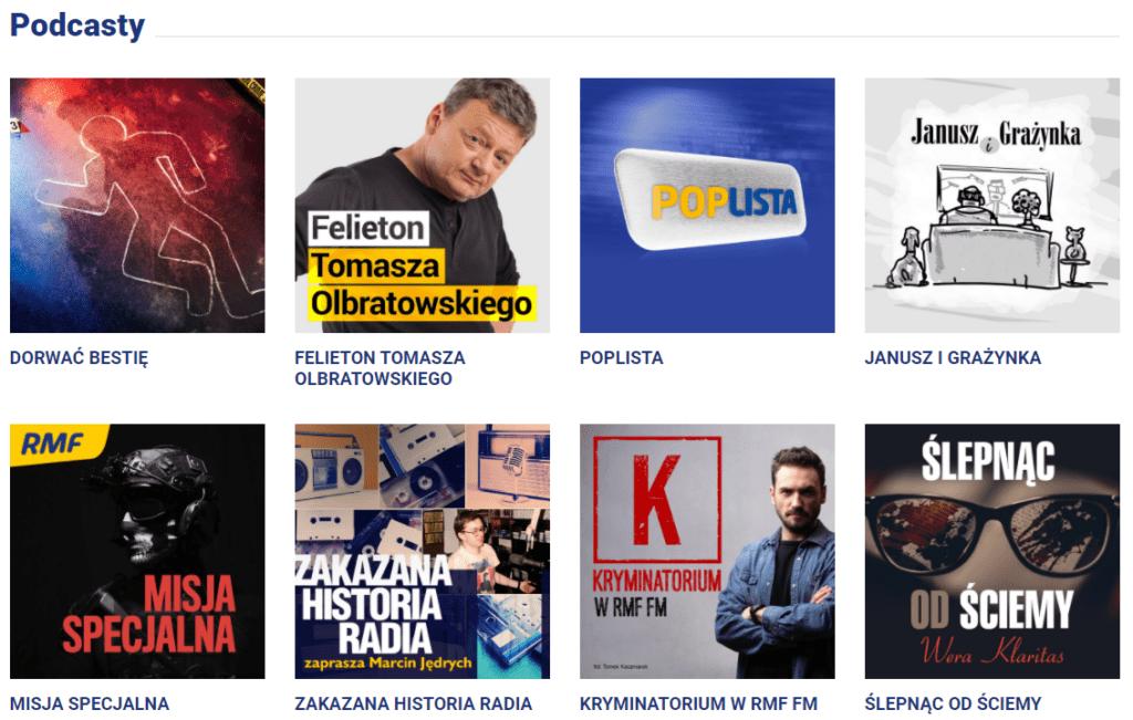 podcasty rmf