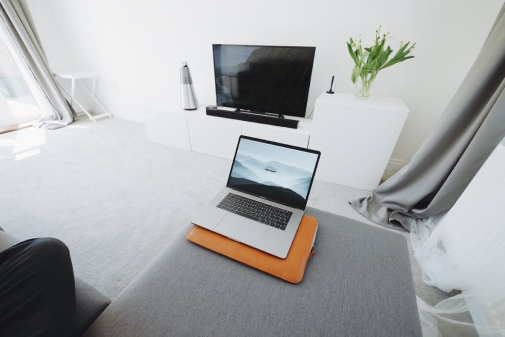 Bezprzewodowe przesyłanie obrazu - laptop