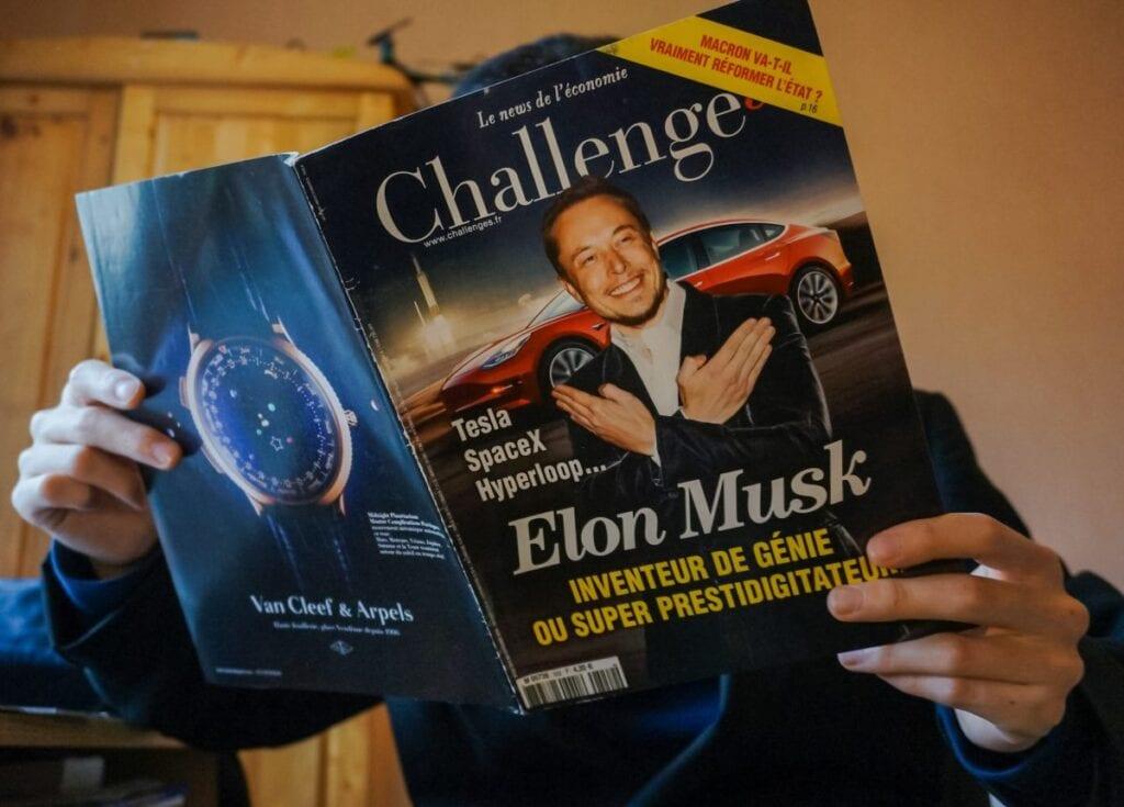 Elon Musk - gazety