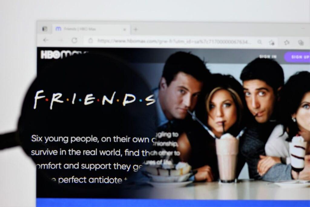 HBO Max - przyjaciele