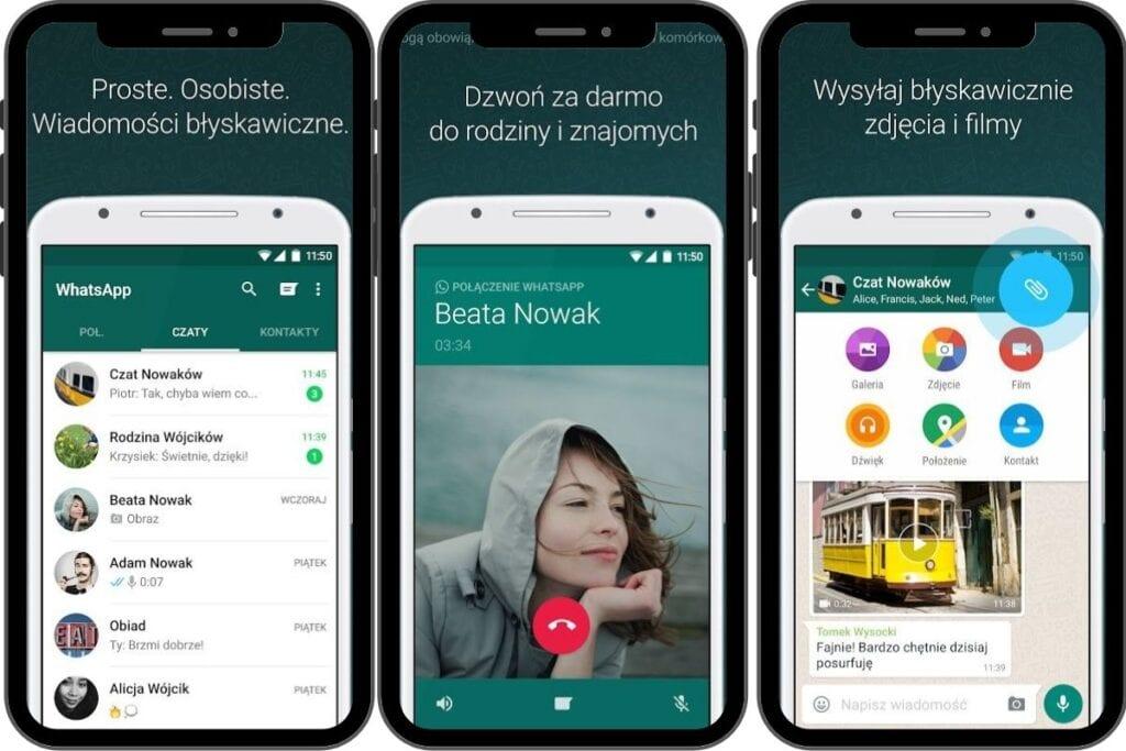 whatsapp - aplikacja do wideorozmów