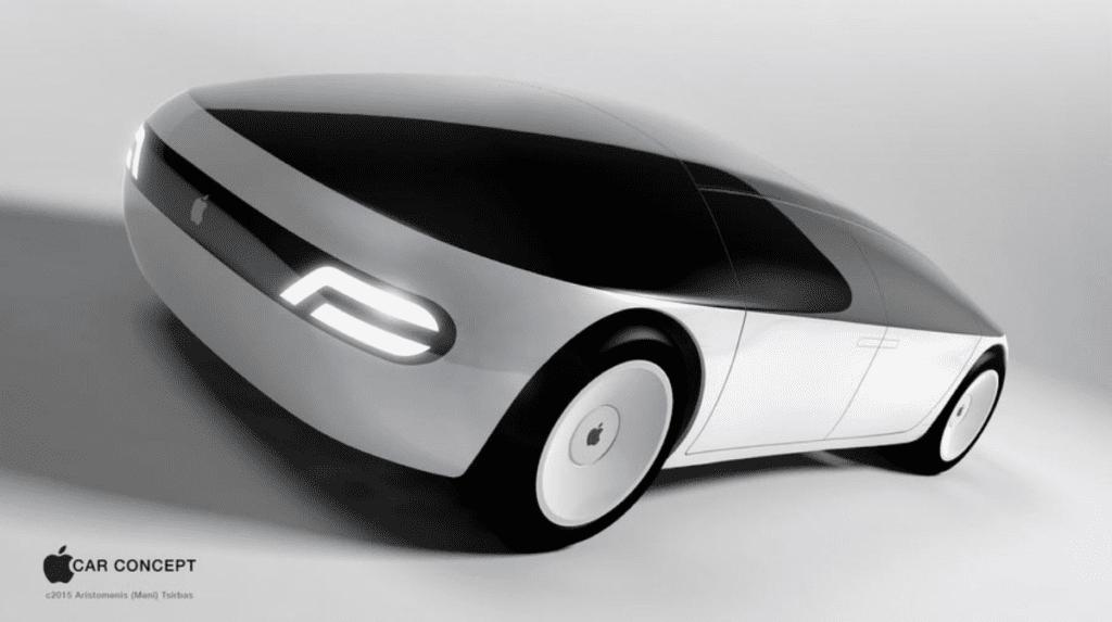 apple car grafika koncepcyjna