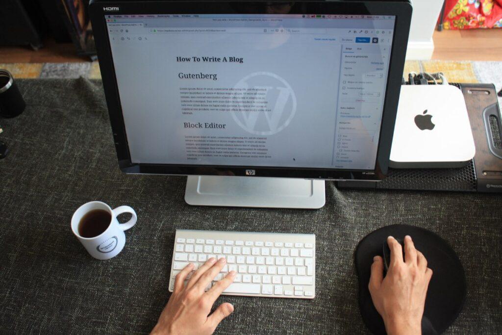 Zakładanie bloga, komputer