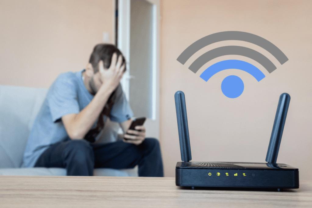 ograniczony dostęp do wi-fi