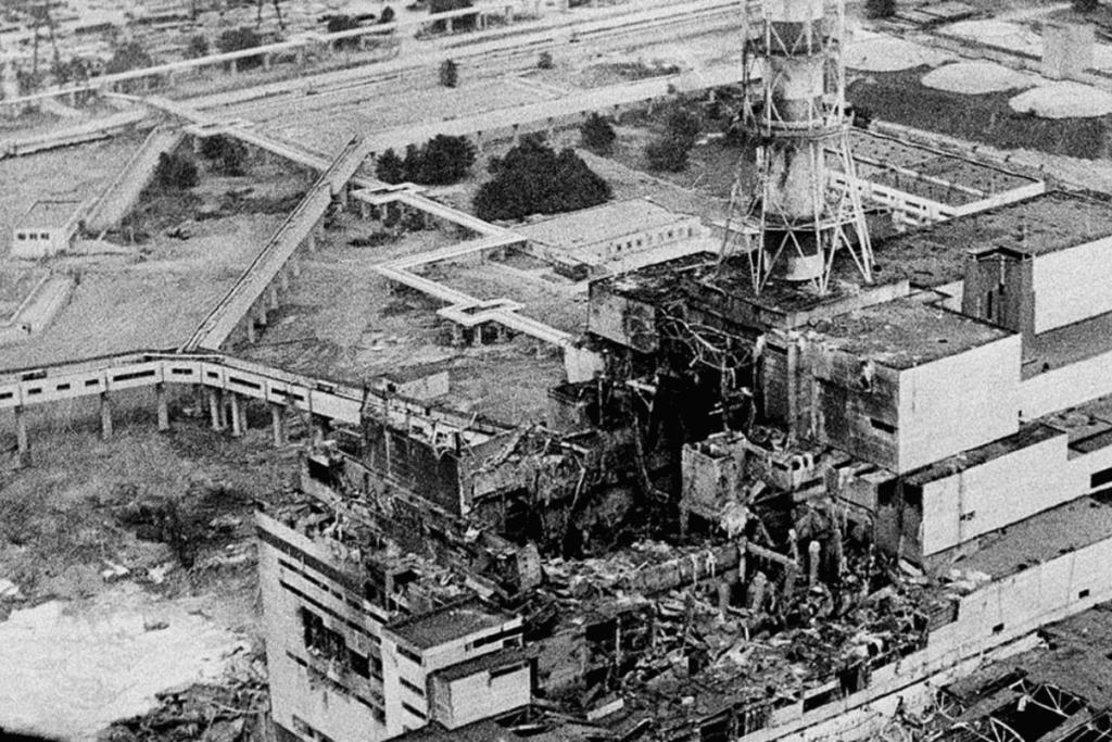 elektrownie atomowe - katastrofa w Czarnobylu