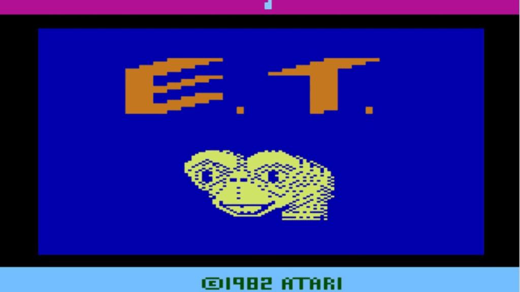 ET - jedna z najgorszych gier Atari 2600