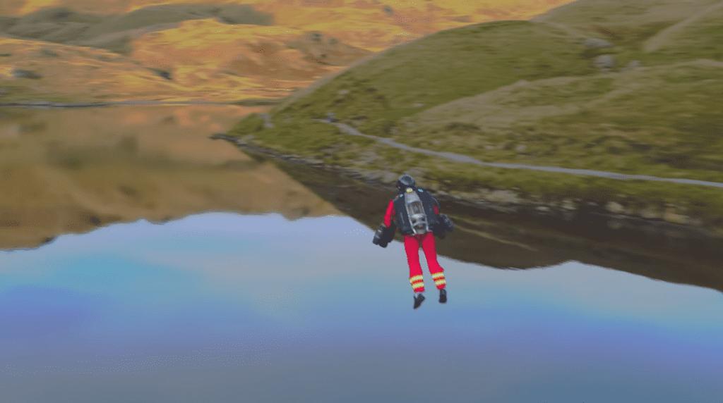 Jet pack służb ratowniczych