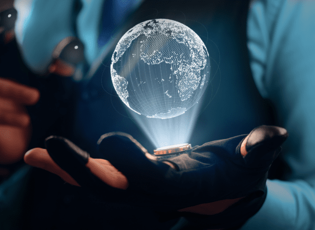 Hologram 3D obraz glowny
