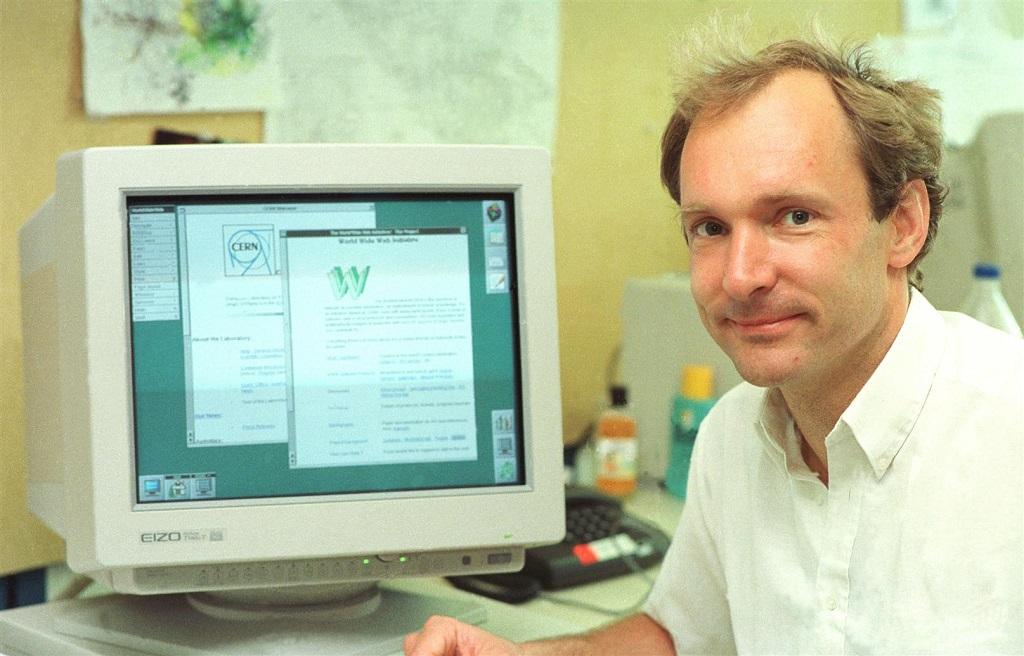 Pierwsze strony WWW CERN