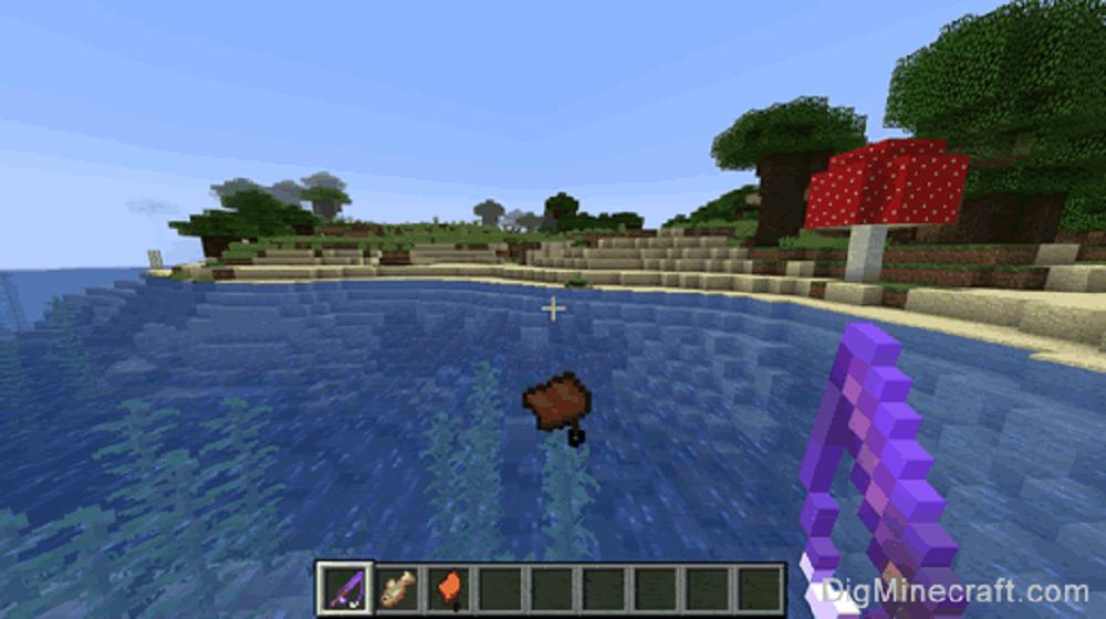Siodło w Minecraft – łowienie siodła