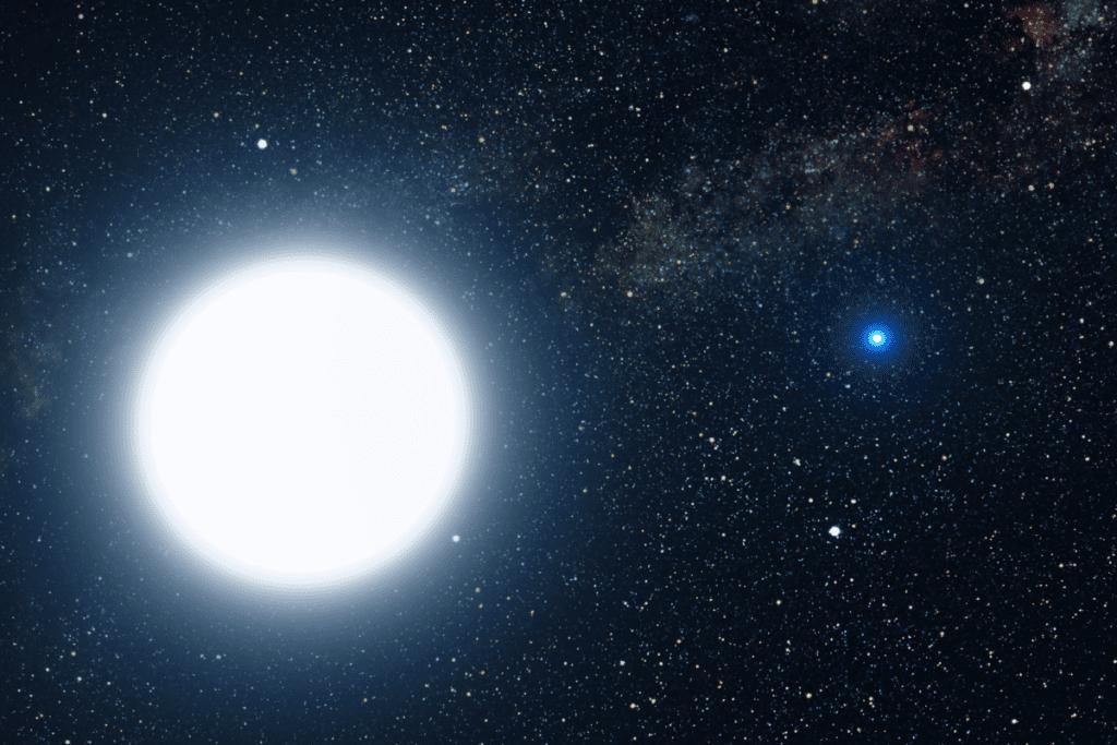 Syriusz - najjaśniejsza gwiazda widziana z Ziemi (poza Słońcem)