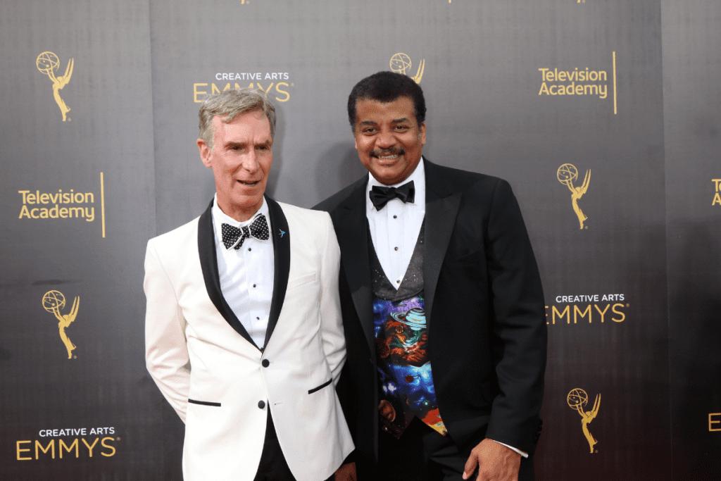Neil deGrasse Tyson i Bill Nye