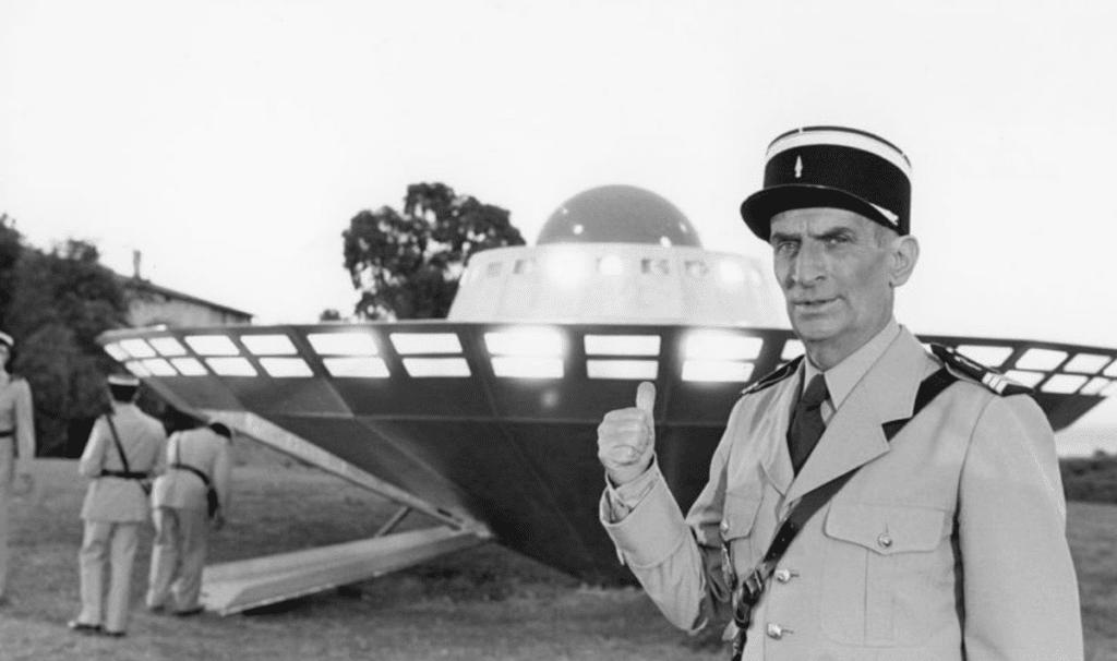 Żandarm i kosmici - filmy o kosmitach