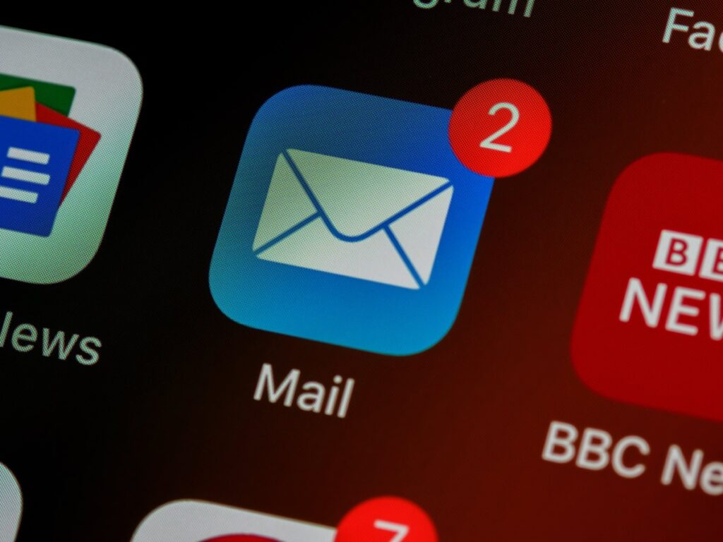mail - aplikacja na telefon