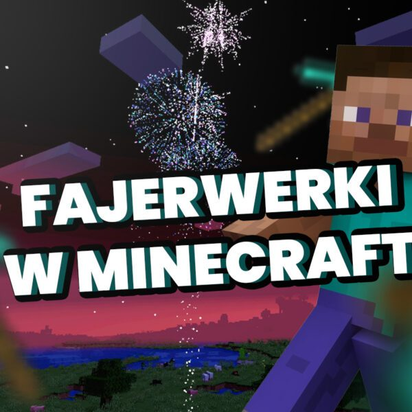 fajerwerki minecraft