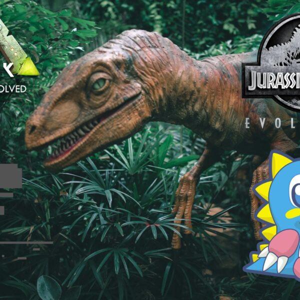 gry z dinozaurami