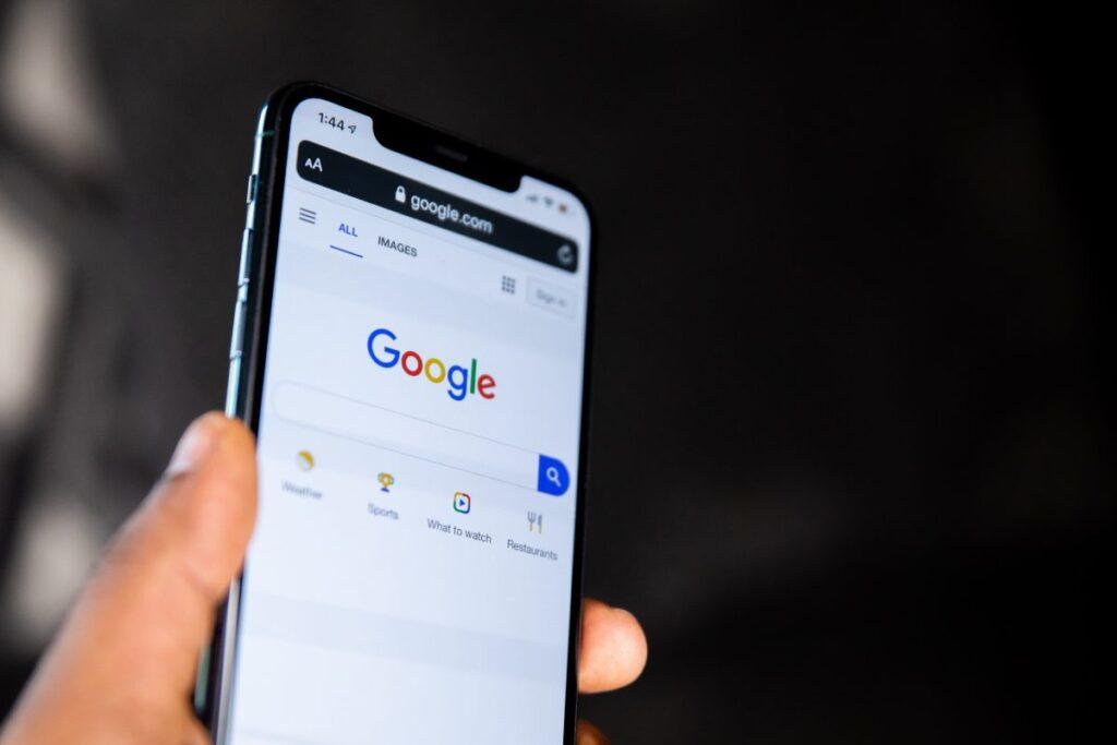 historia google mobile