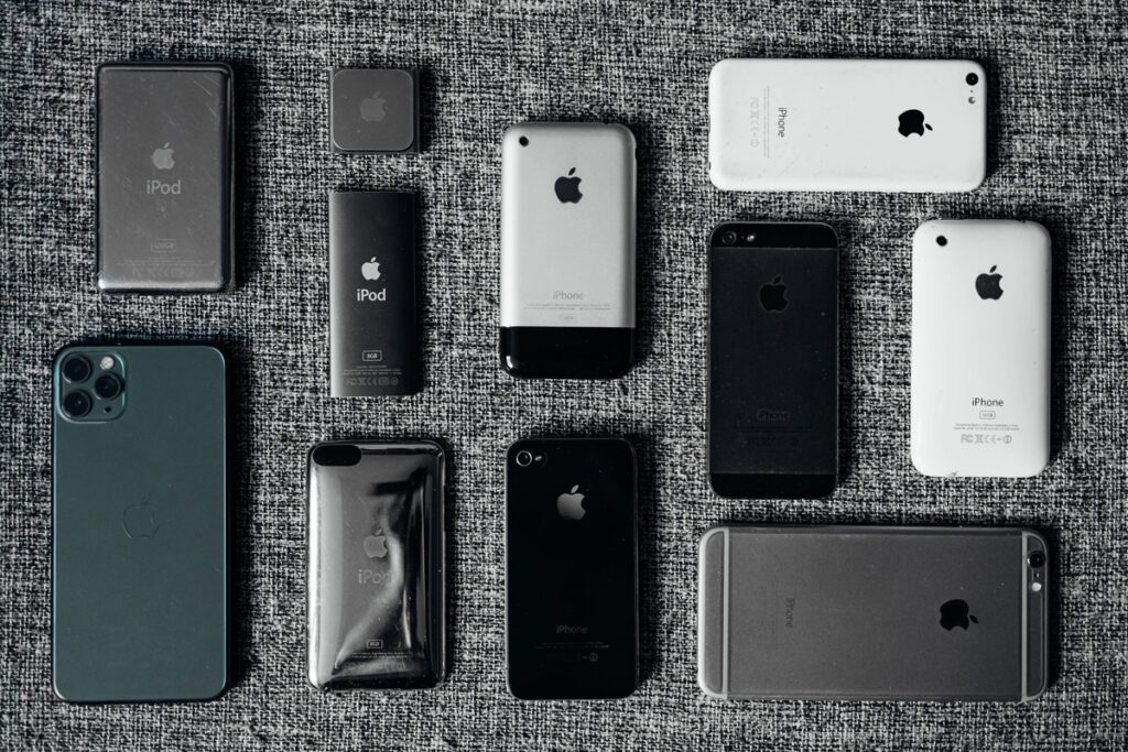 wszystkie iphone
