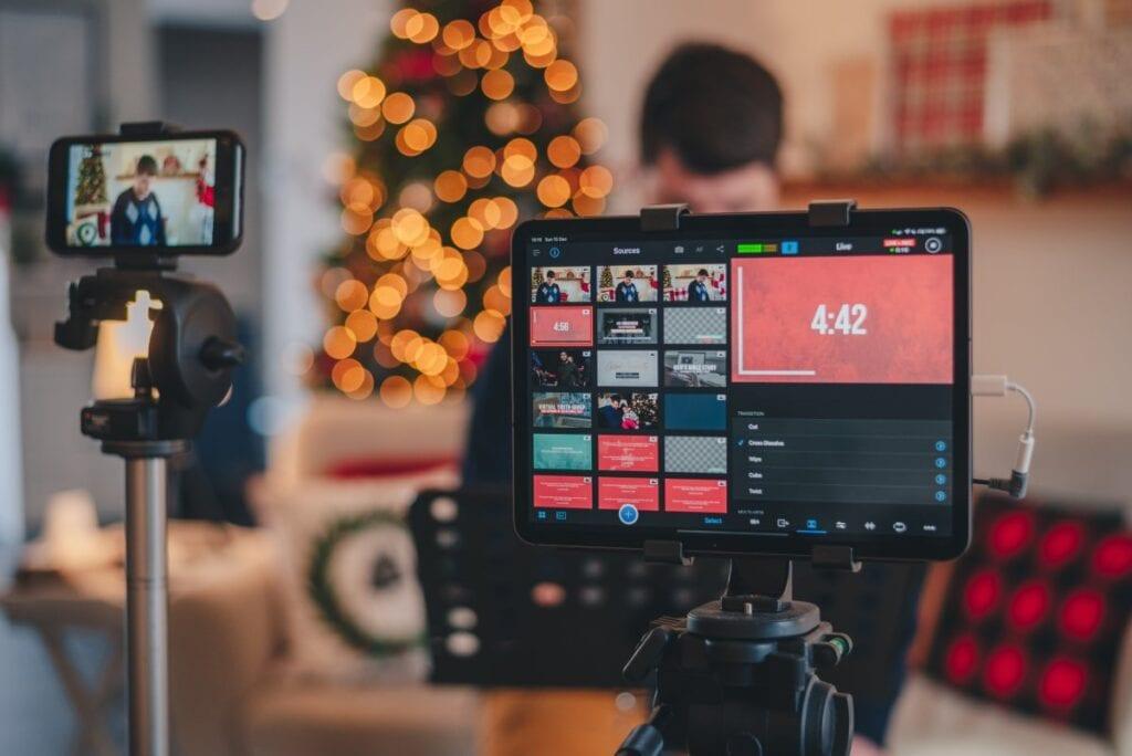 Streamowanie na YT i Twitch - kamera