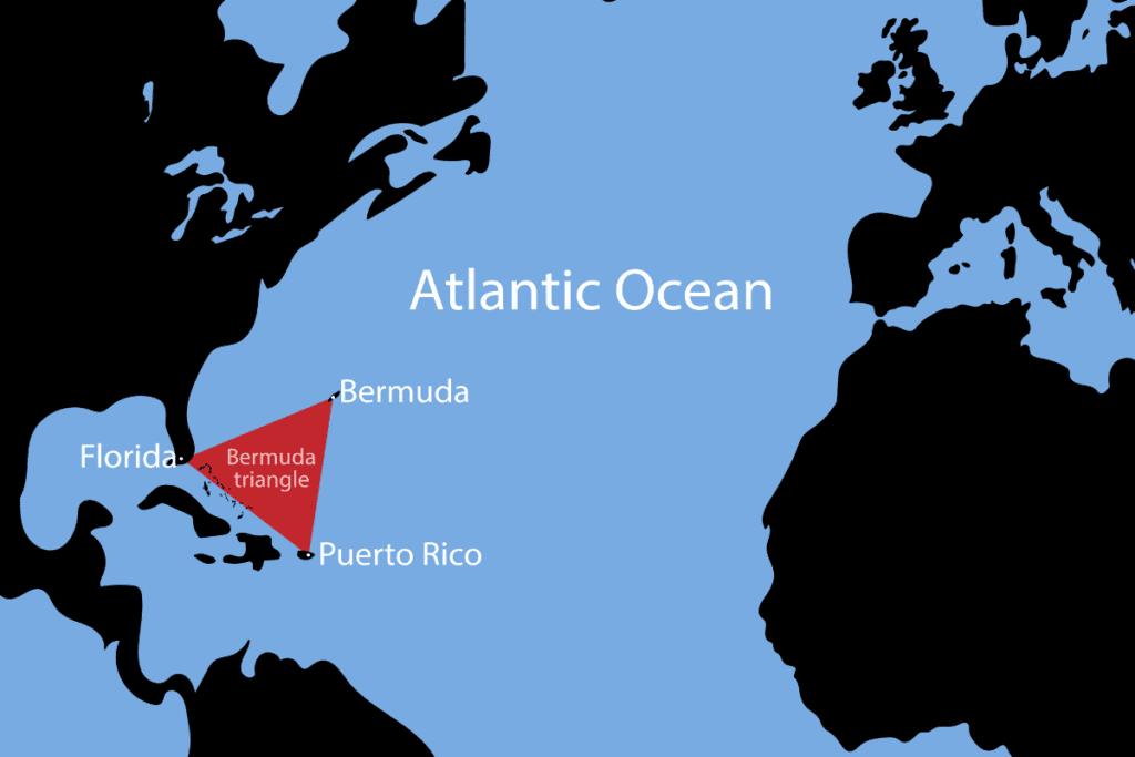 trójkąt bermudzki - obszar