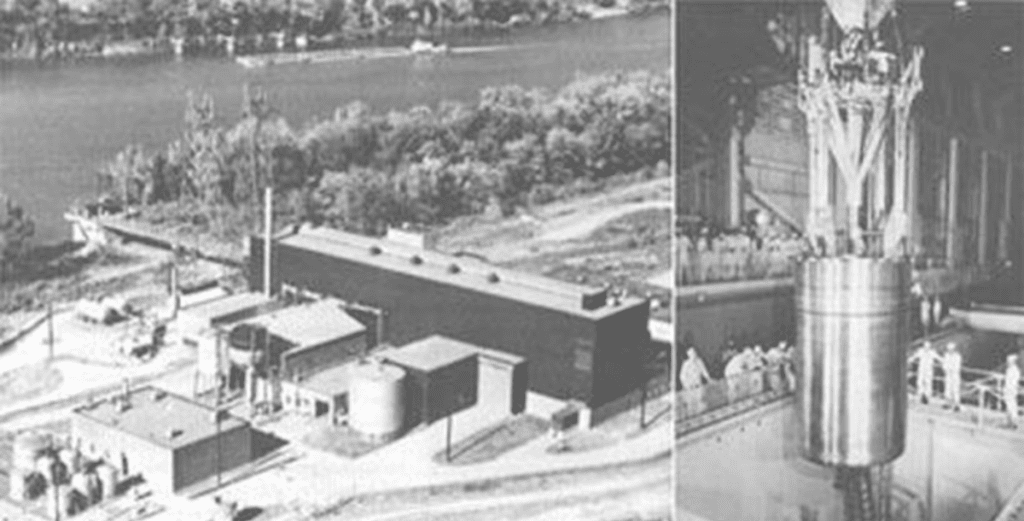 Pierwsza z wielu elektrowni atomowych