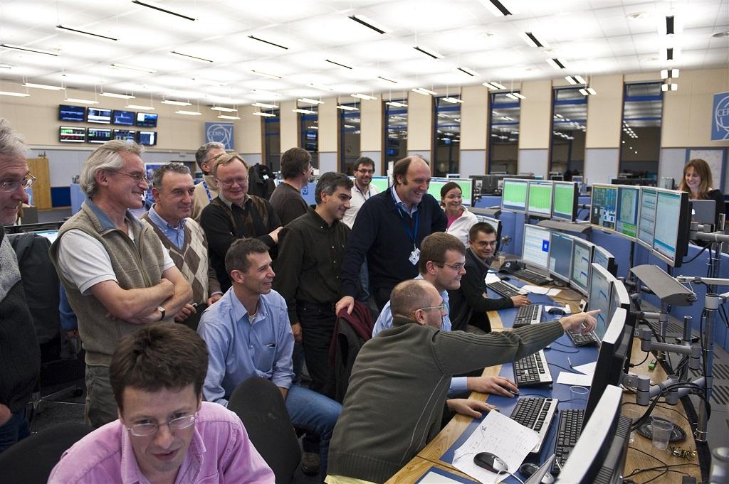 panel kontrolny CERN