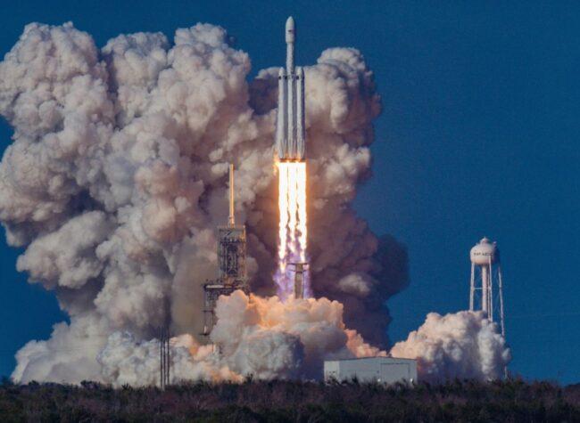 SpaceX start