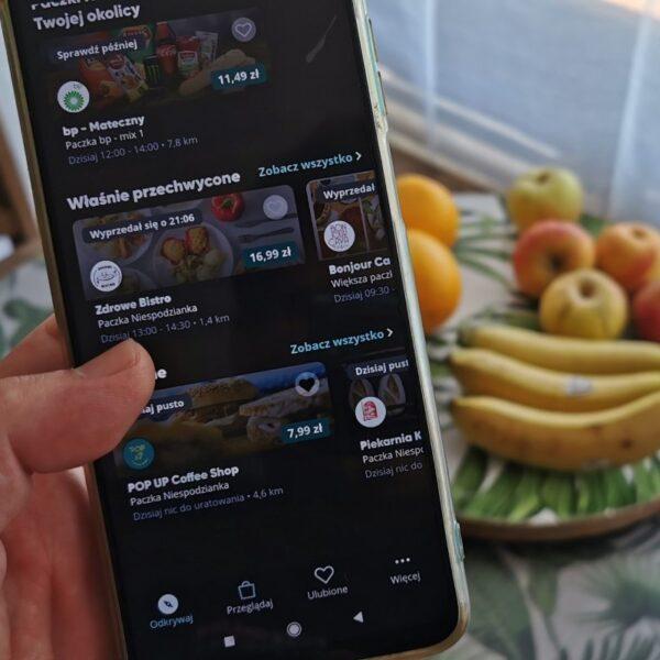 aplikacja jedzenie