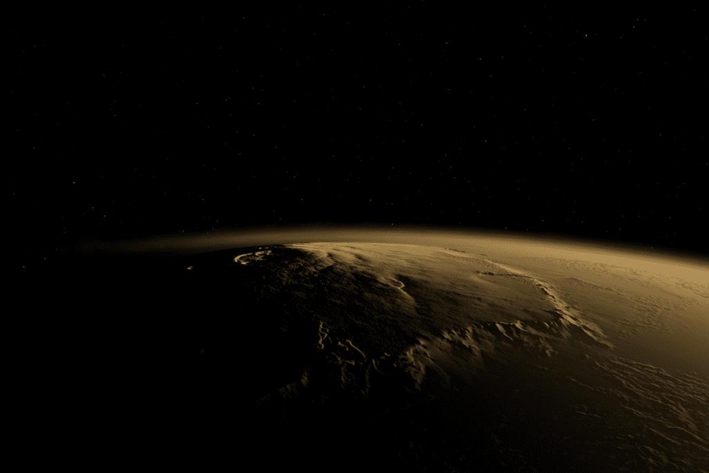 Historia badań Olympus Mons