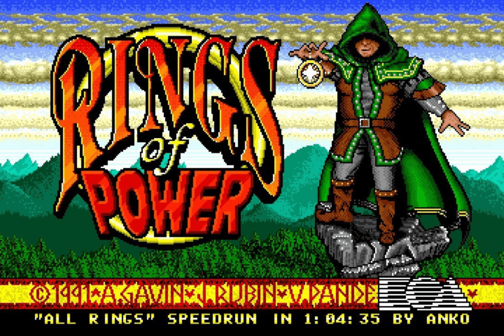 Naughty Dog - Rings of Power
