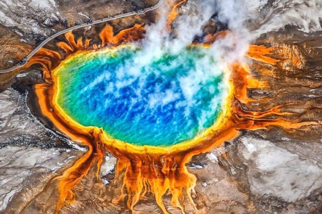 Super wulkan yellowstone