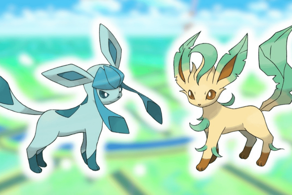 Leafeon, Glaceon