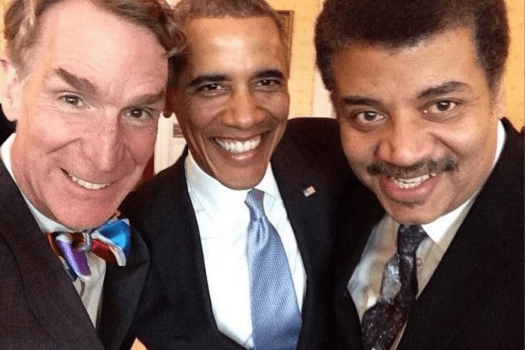 Popularne selfie z Neil deGrasse Tysonem