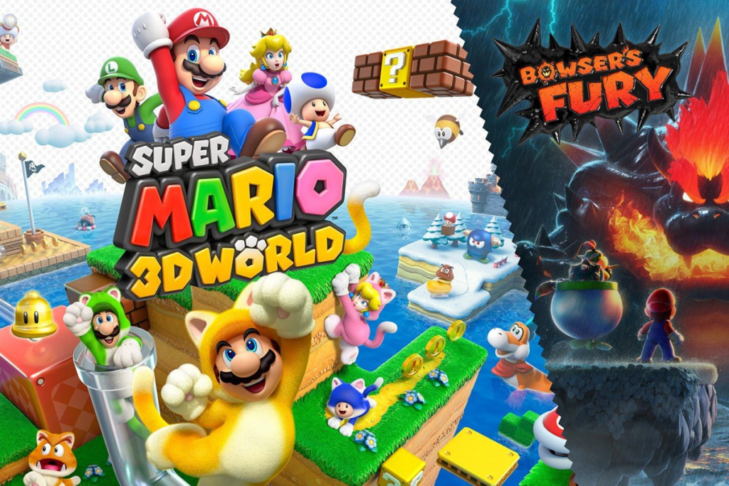 Super Mario 3D World + Bowser's Fury.