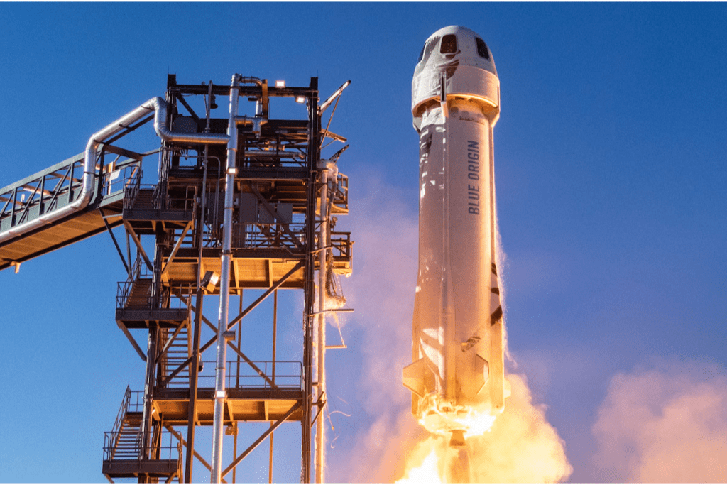 Jeff Bezos i Blue Origin