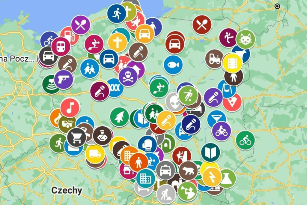 mapa klasyków polskiego internetu