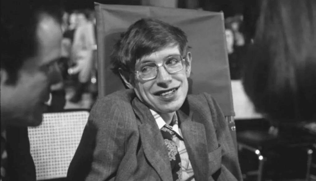 Stephen Hawking w młodości