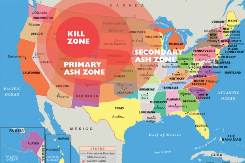 koniec świata - kaldera Yellowstone