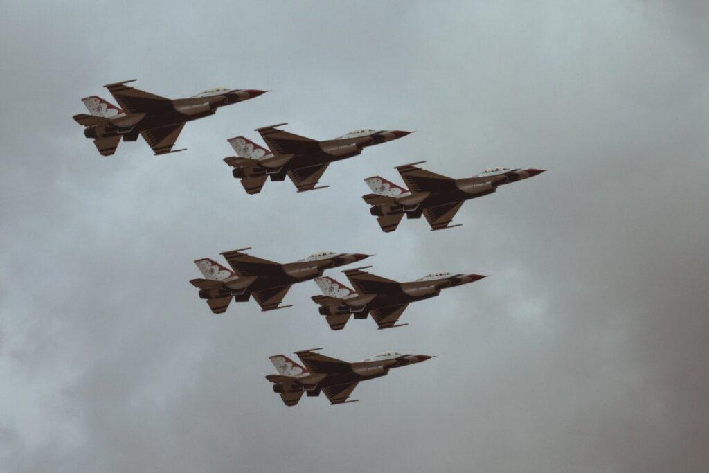 f-16 formacja