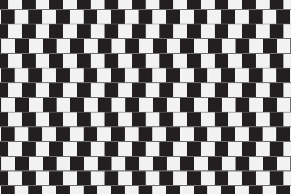 Złudzenie optyczne - linie